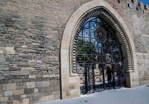 City Wall gate, Baku