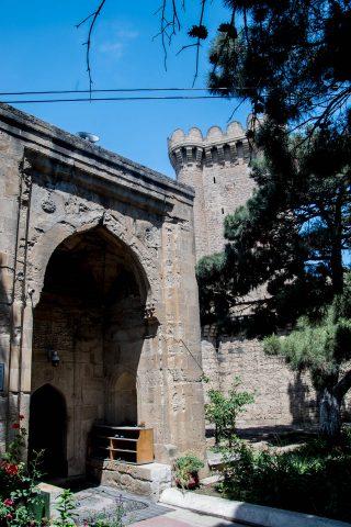 Mosque, Mardakan Castle, Abseron Peninsula, Baku