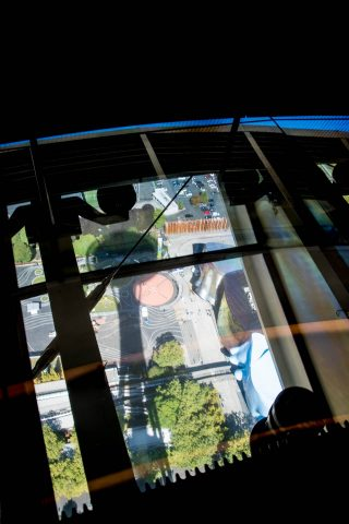 View down from Space Needle. Seattle