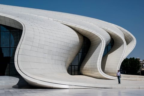 Heydar Aliyev Cultural Centre by Zaha Hadid, Baku