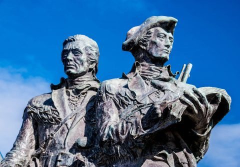Lewis & Clark statue, Seaside