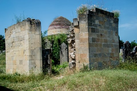 Seven Domes cemetery, Shamakhi