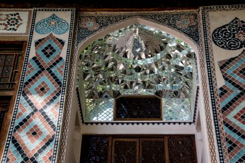 Shek Khan's palace, Sheki