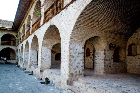 Caravanserais, Sheki
