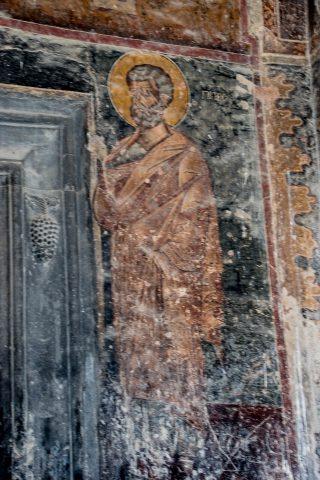 West door fresco, Alaverdi Cathedral, near Telavi