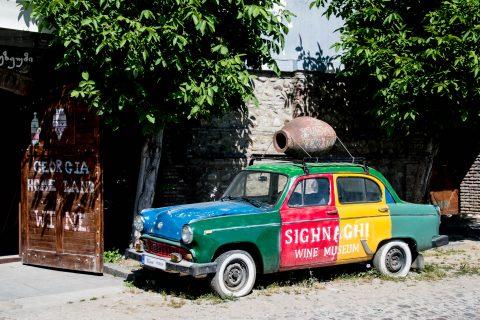Sighnaghi - promotion car