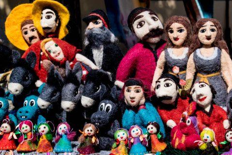 Sighnaghi - local dolls