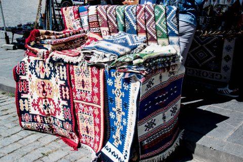Sighnaghi - local carpets