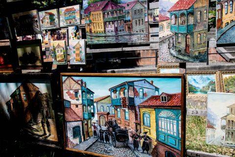 Art, Dry Brdige, Tbilisi
