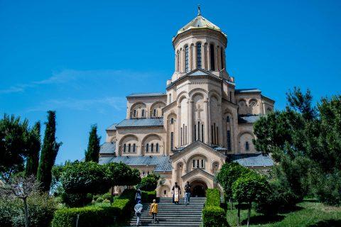 Tsminda Sameba Cathedral, Tbilisi