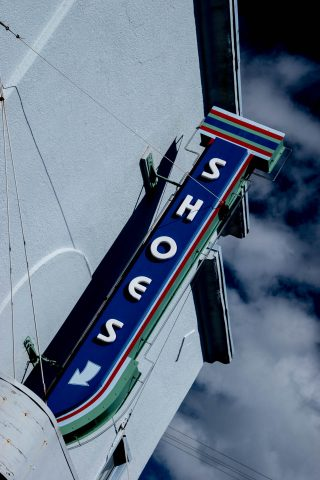 Shop sign, Florence