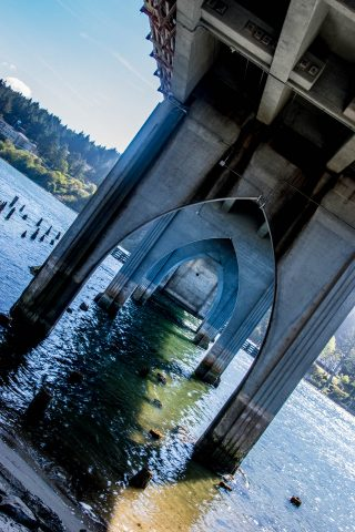 Arches of Siuslaw River Bridge, Florence