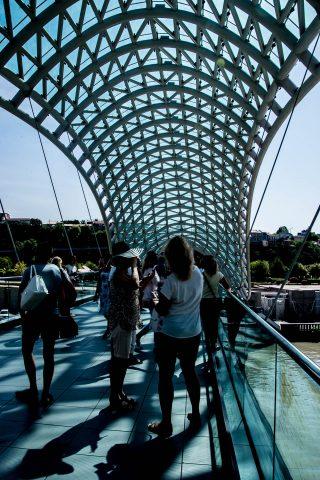 Peace Bridge, Tbilisi