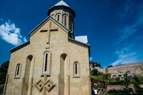St Nicholas Church, Narikala Fortress, Tbilisi