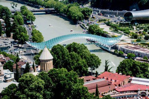 View from Narikala Fortress, Tbilisi