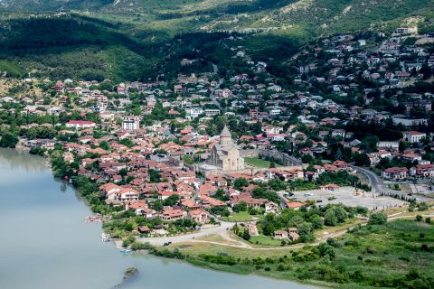 Mtskheta from Jvari church