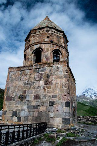 Holy Trinity Church, Kazbek belltower
