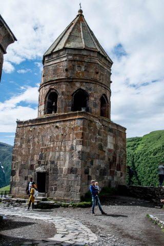 Bell tower, Holy Trinity Church, Kazbek