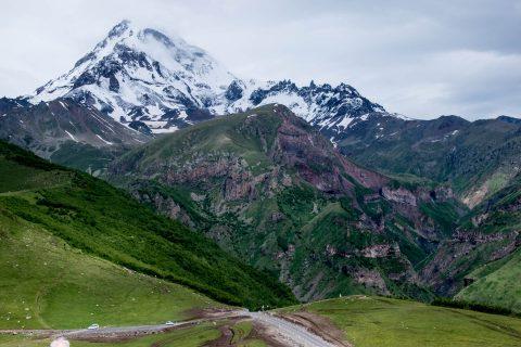 Mt Kazbek