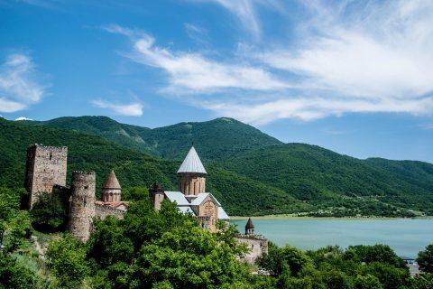 Ananuri  fortress &  churches
