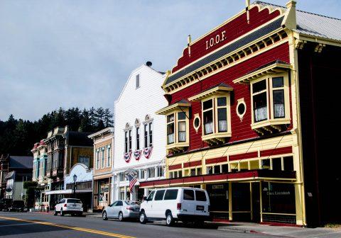 Main Street, Ferndale, California