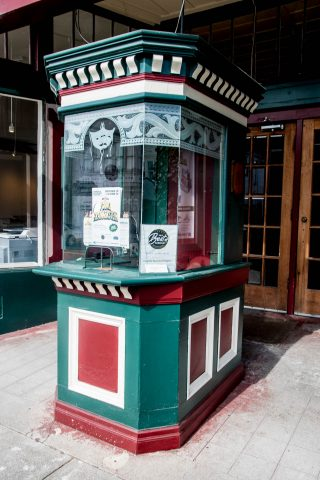 Theatre ticket booth, Ferndale, California