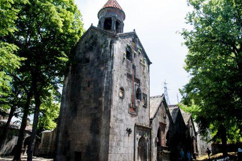 Bell tower, Sanahin Monastery, Alaverdi, Armenia
