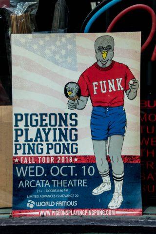 Theatre poster, Ferndale, California