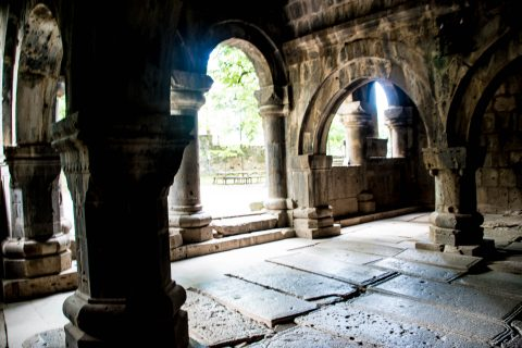 Sanahin Monastery, Alaverdi, Armenia - narthex