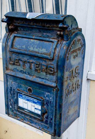 Post Box, Ferndale, California
