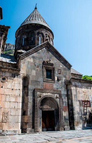 Surp Astvatsatsin, Geghard Monastery, Armenia