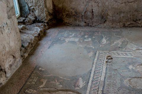Roman bathhouse, Garni Temple, Armenia