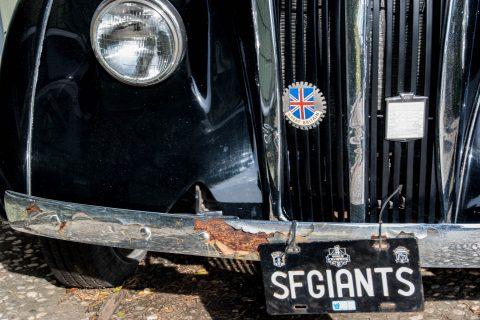 1955 London Taxi, Mendocino, California