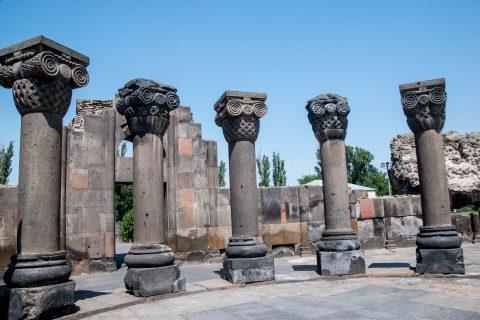 Zvartnots Cathedral, Armenia