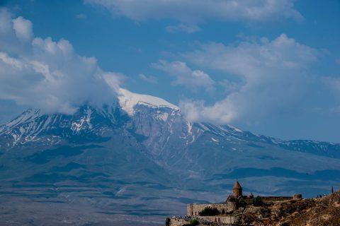 Mount Ararat & Khor Virap Monastery, Armenia