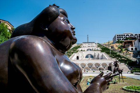 Fernando Botero sculpture, Yerevan