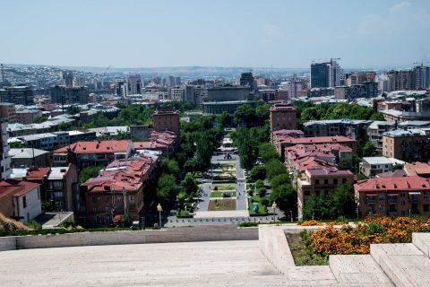 Yerevan from The Cascade