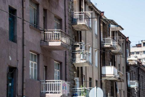 Soviet era apartments, Yerevan