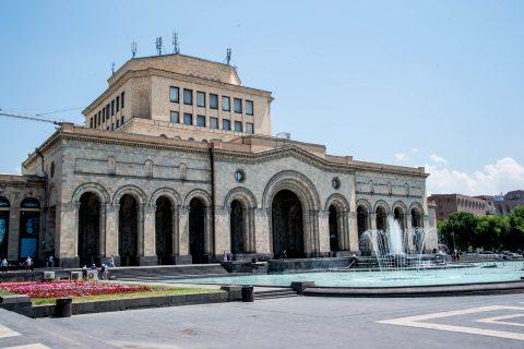 Natioanl Gallery, Republic Square, Yerevan