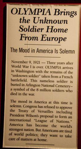 Independence Seaport Museum display, Philadelphia