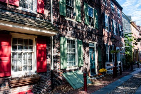 Elfreth's Alley (1702), Philadelphia