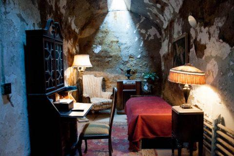 Eastern State Penitentiary - Al Capone's cell, Philadelphia