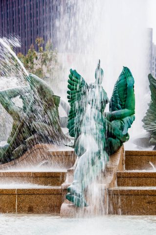 JFK Plaza fountain, Philadelphia