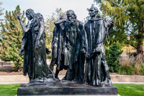 Burgers of Calais by Rodin, Hirshhorn Sculpture Garden, Washingt