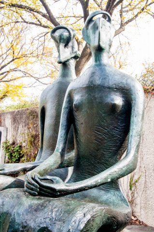 King & Queen by H Moore, Hirshhorn Sculpture Garden, Washington