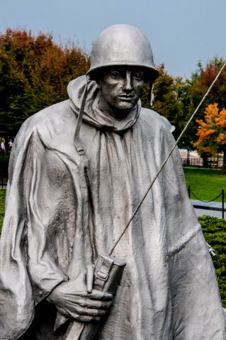Korean War Veterans Memorial, Washington DC