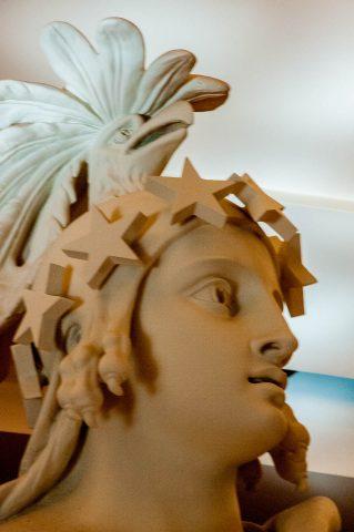 Statue of Freedom plaster model, The Capitol, Washington DC