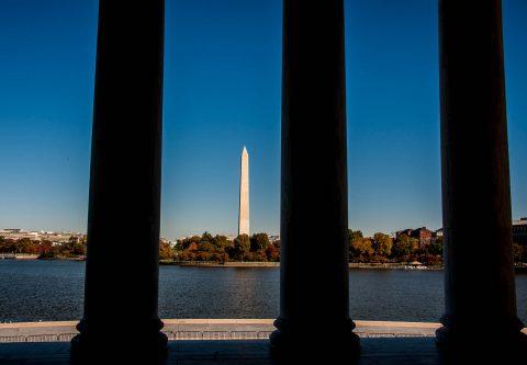 Washington Monument from The Capitol, Washington DC