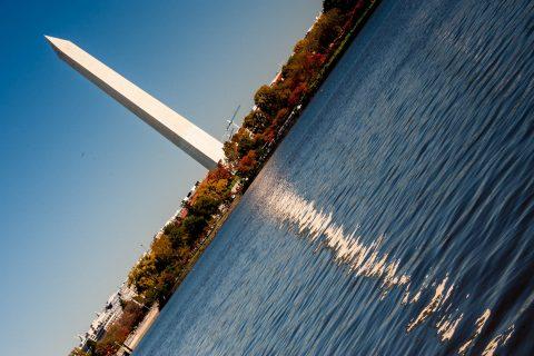 Washington Monument and Tidal Basin, Washington DC