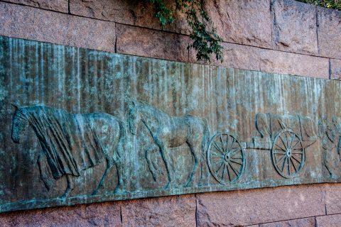 Franklin D Roosevelt Memorial, Washington DC